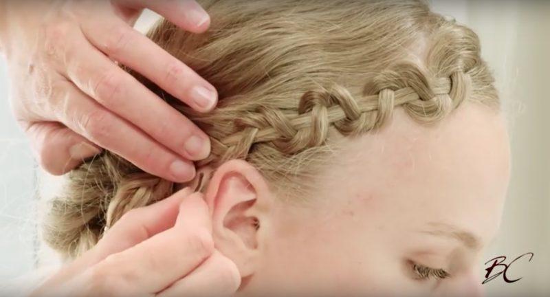 Tuto coiffure - 3 tresses